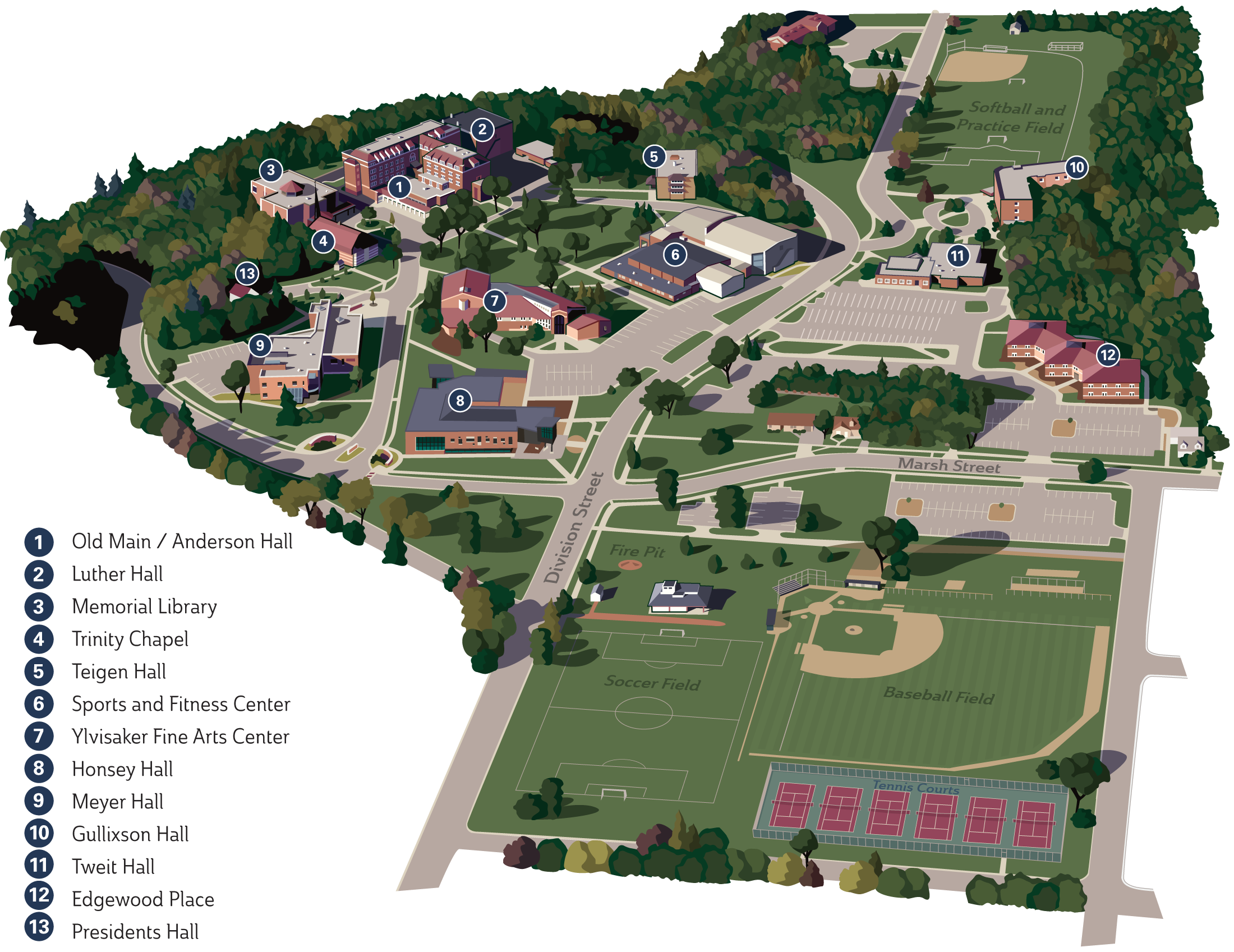 Youngstown State University Campus Map.Ccsu Campus Map Map Of Tourist Attractions In London Georgia