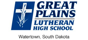 Great Plains Lutheran High School logo