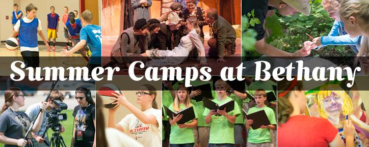 Summer Camps at Bethany