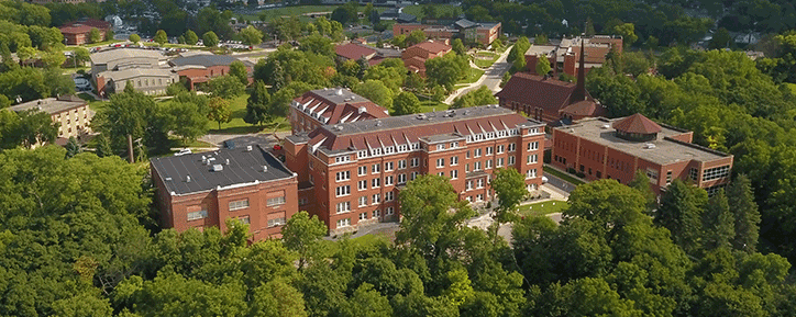 Bethany Campus aerial photo