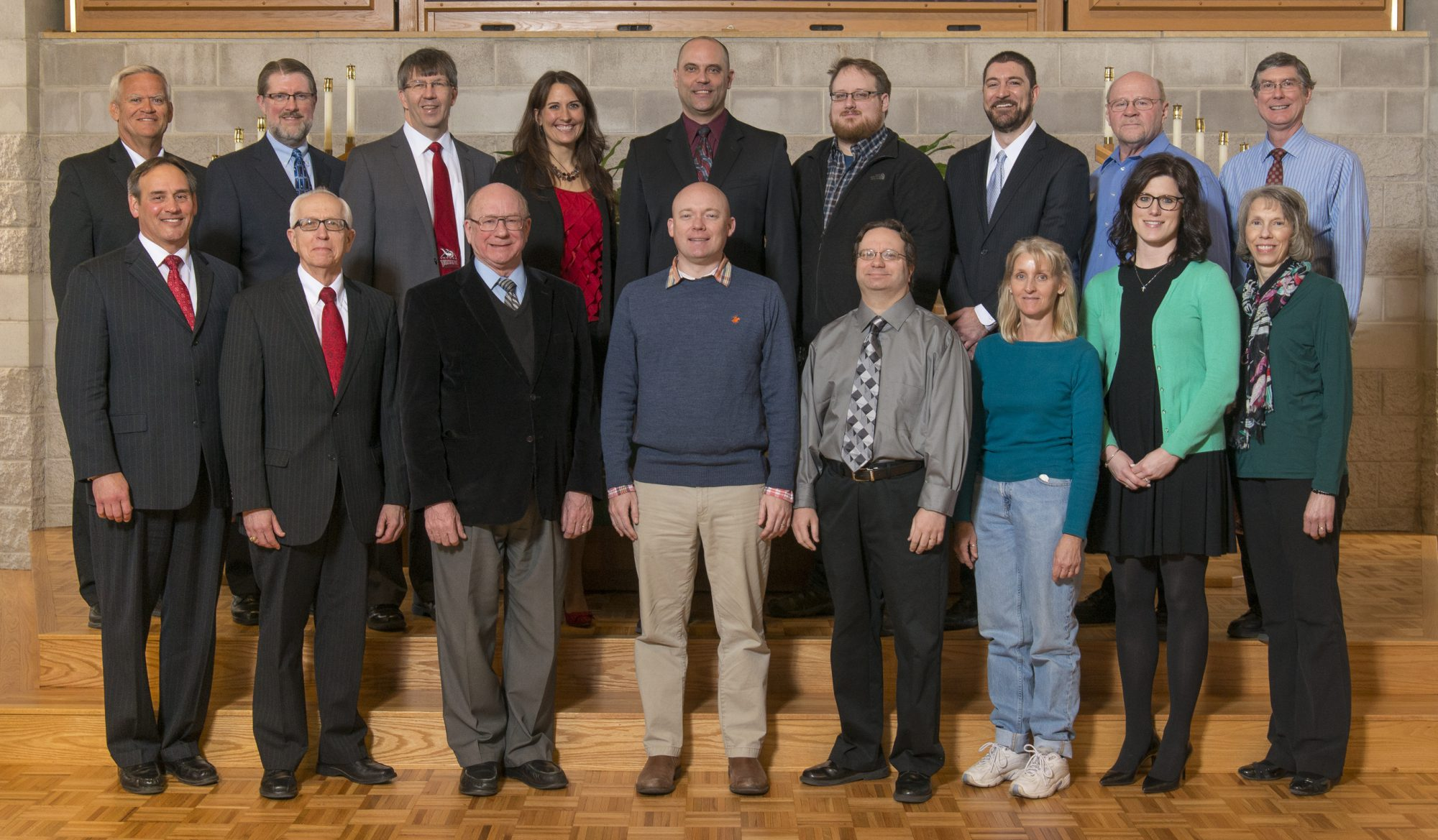 Faculty and Staff honored in 2017