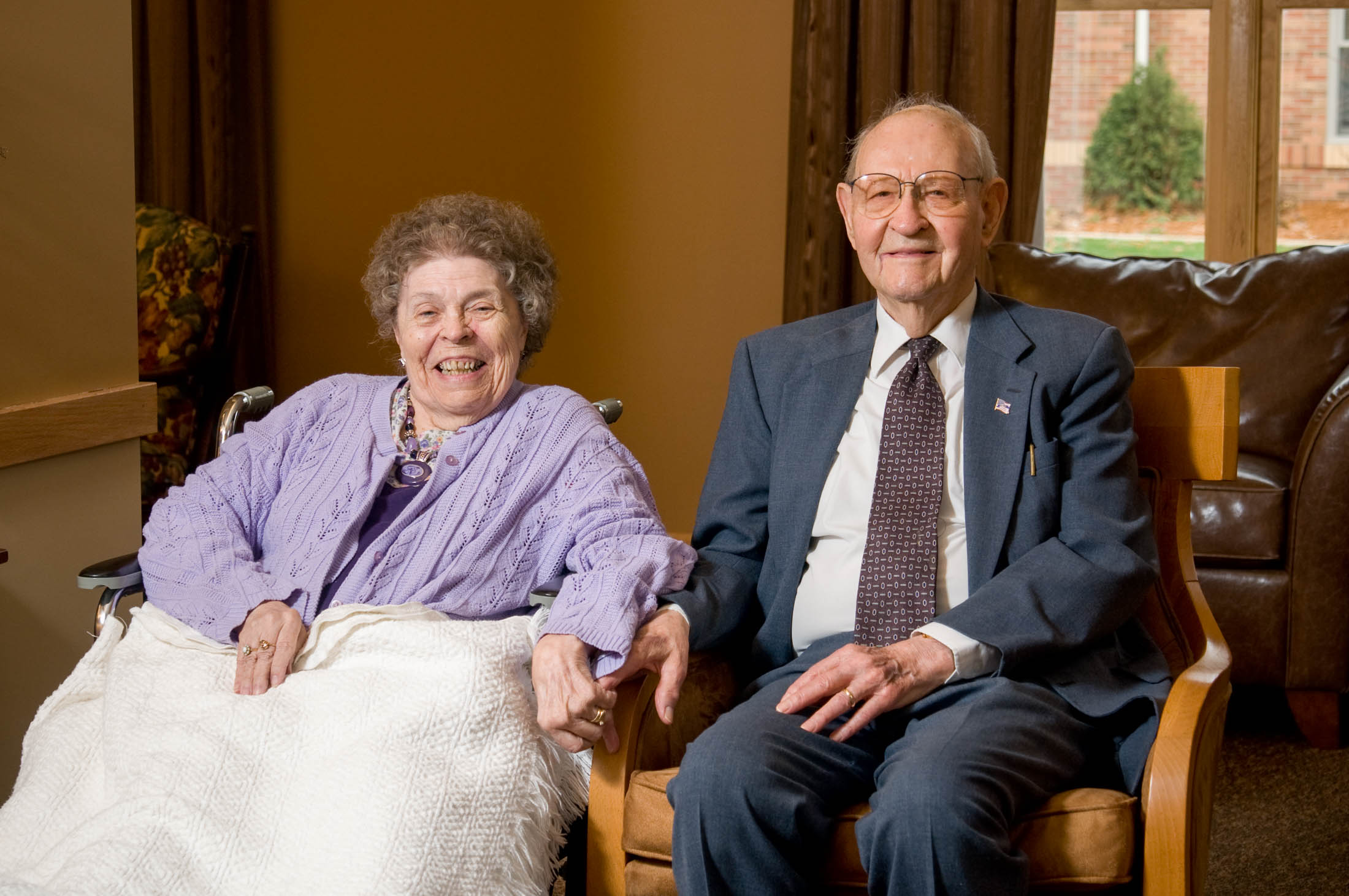 Betty and Professor Rudy Honsey