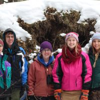 Avian Ecology students visiting Minnesota's North Shore