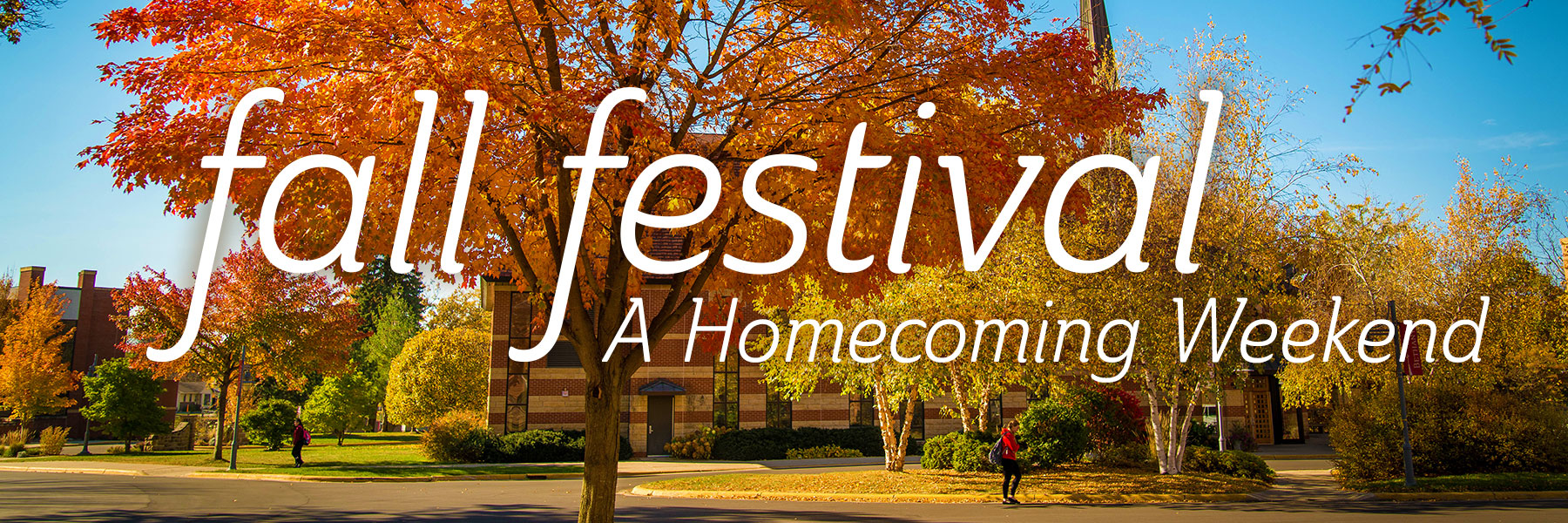 fall festival - a homecoming weekend