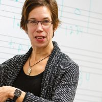 Bethel Balge, music department faculty and private lessons instructor