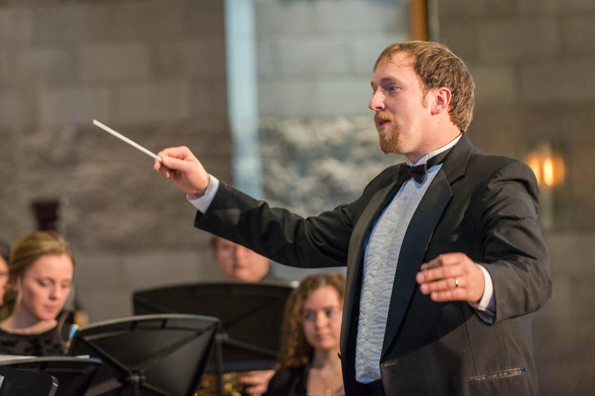 Professor of Music Benjamin Faugstad