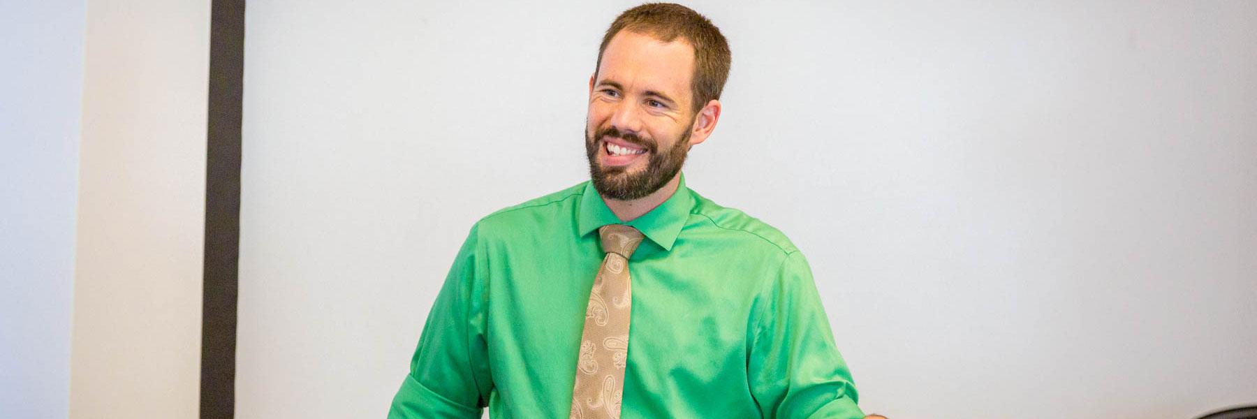 Nick Kaminsky, History Department professor