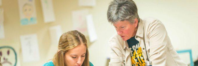 Polly Browne, Education Department professor