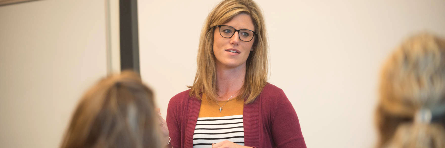 Sarah Harstad, Business Administration department professor