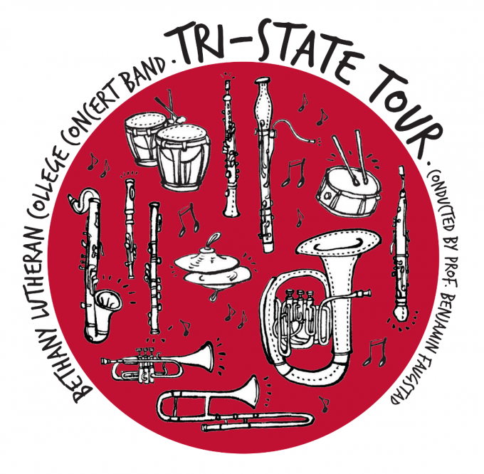 Tri-State band tour promotional poster