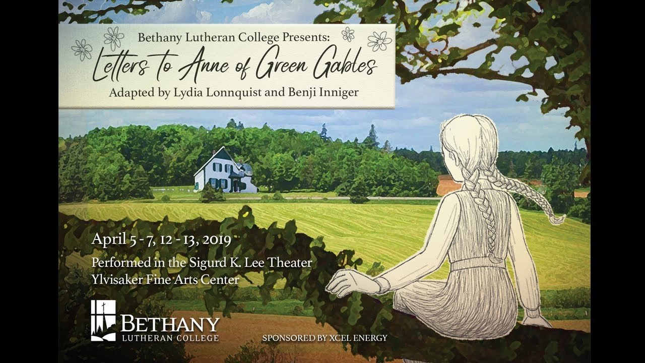 Letters to Anne of Green Gables program cover