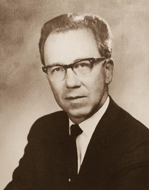 Portrait of Raymond Branstad