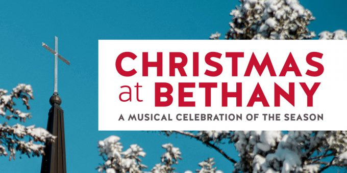 Christmas at Bethany horizontal logo