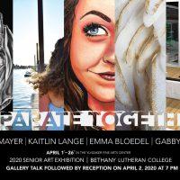 Sr art show 2020, Mayer, Lange, Blodel, Baker
