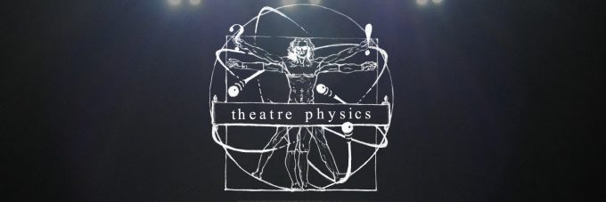Theatre Physics logo on black background
