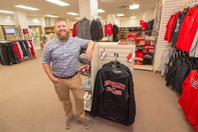 Bookstore manager Dan Gerdts