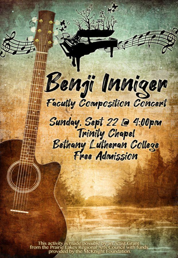 Benji Inniger Composition Concert