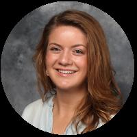 admissions staff member, Olivia Lippert