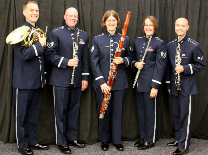 USAF Midwest Winds quintet photo