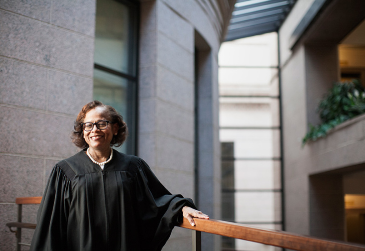 Image featuring Justice Natalie Hudson