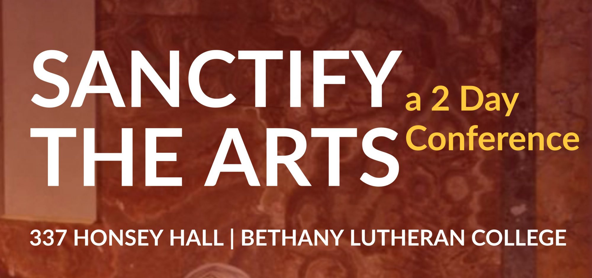 Sanctify the Arts - BLC News & Events