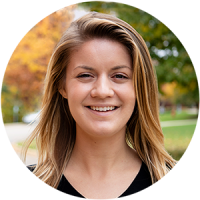 Olivia Lippert, Coordinator of Admissions Marketing & Digital Communications