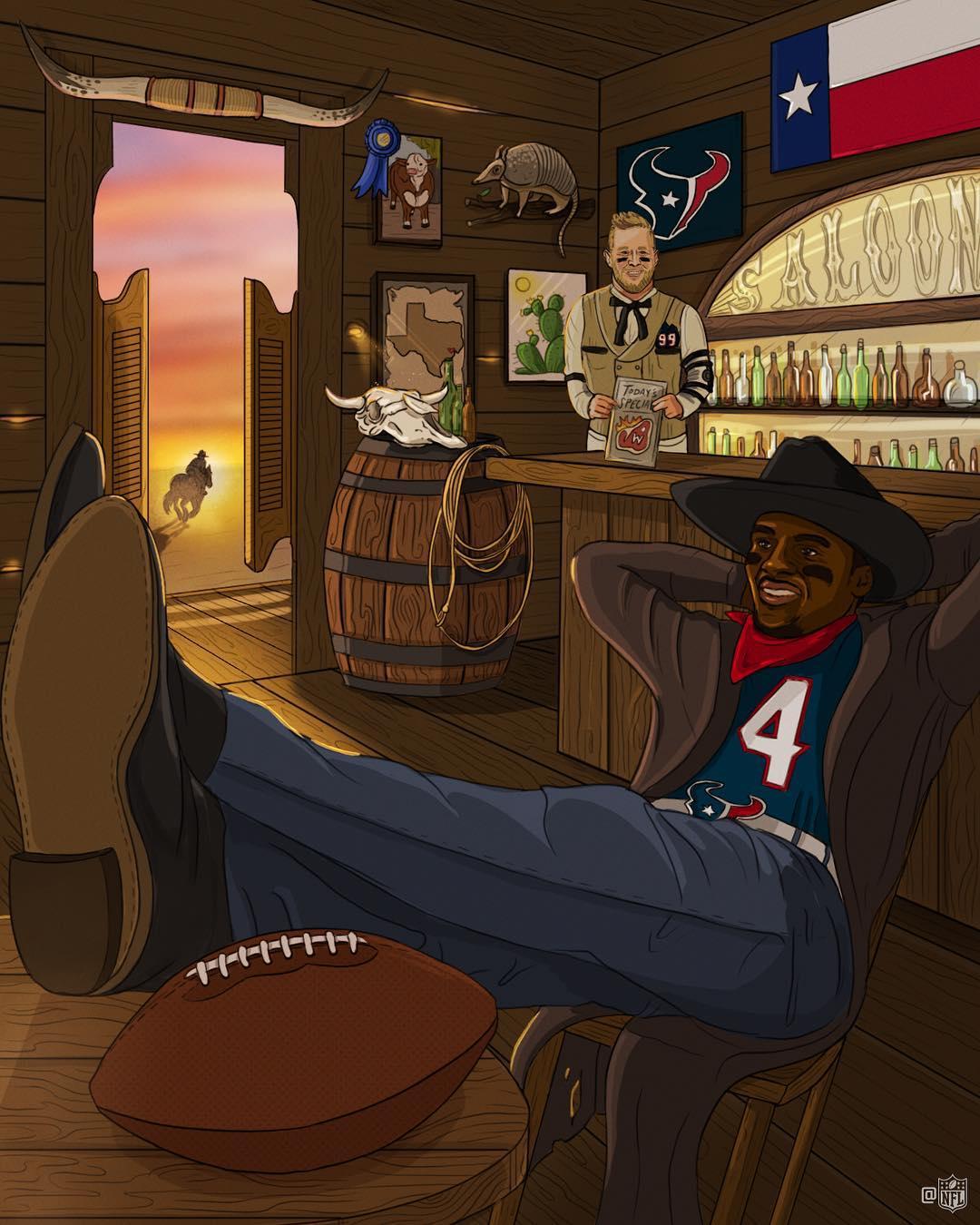 Deshaun Watson of the Houston Texans.