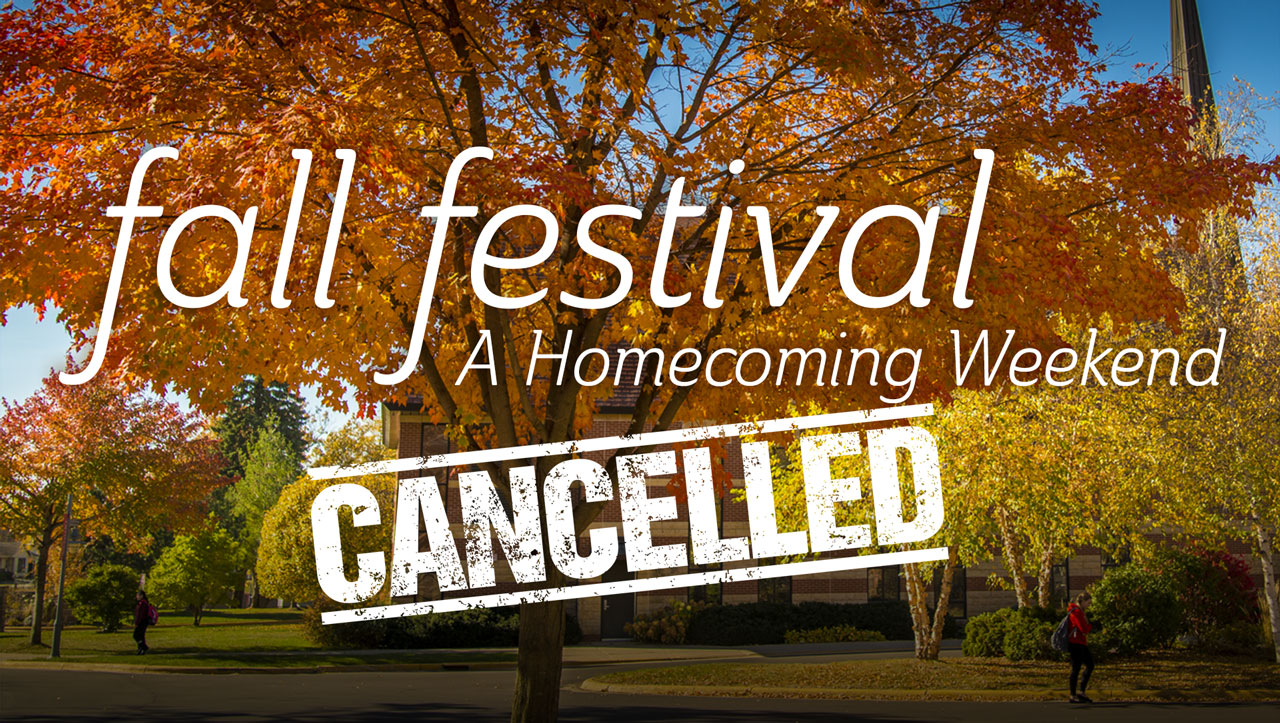 fall festival a homecoming weekend cancelled