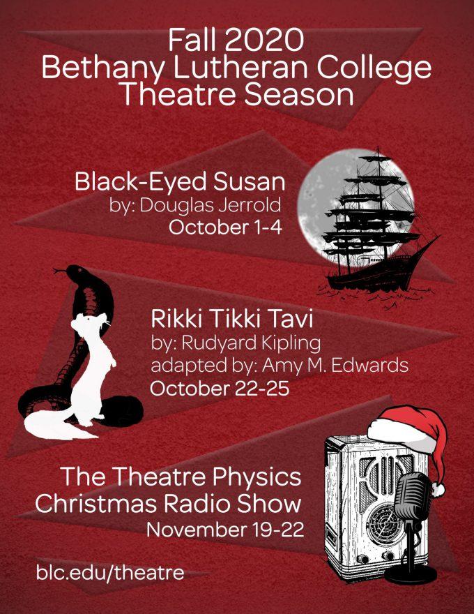 BLC Theatre Fall 2020 Season